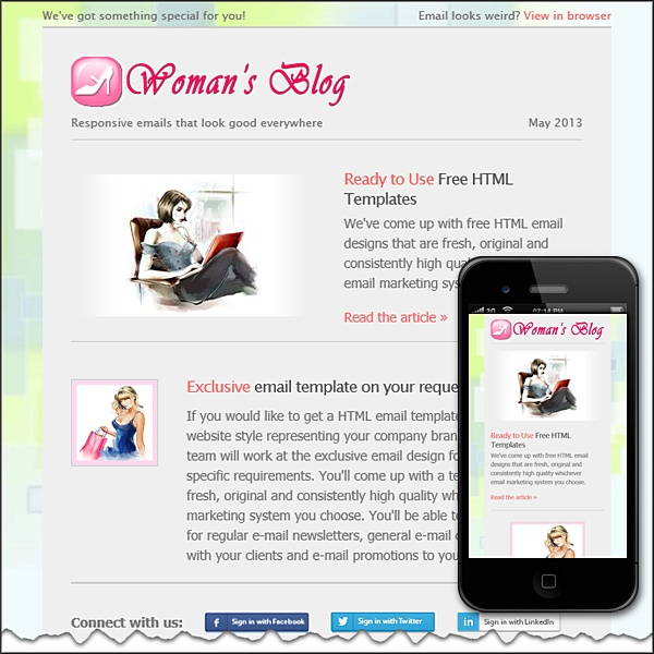 Woman's Blog